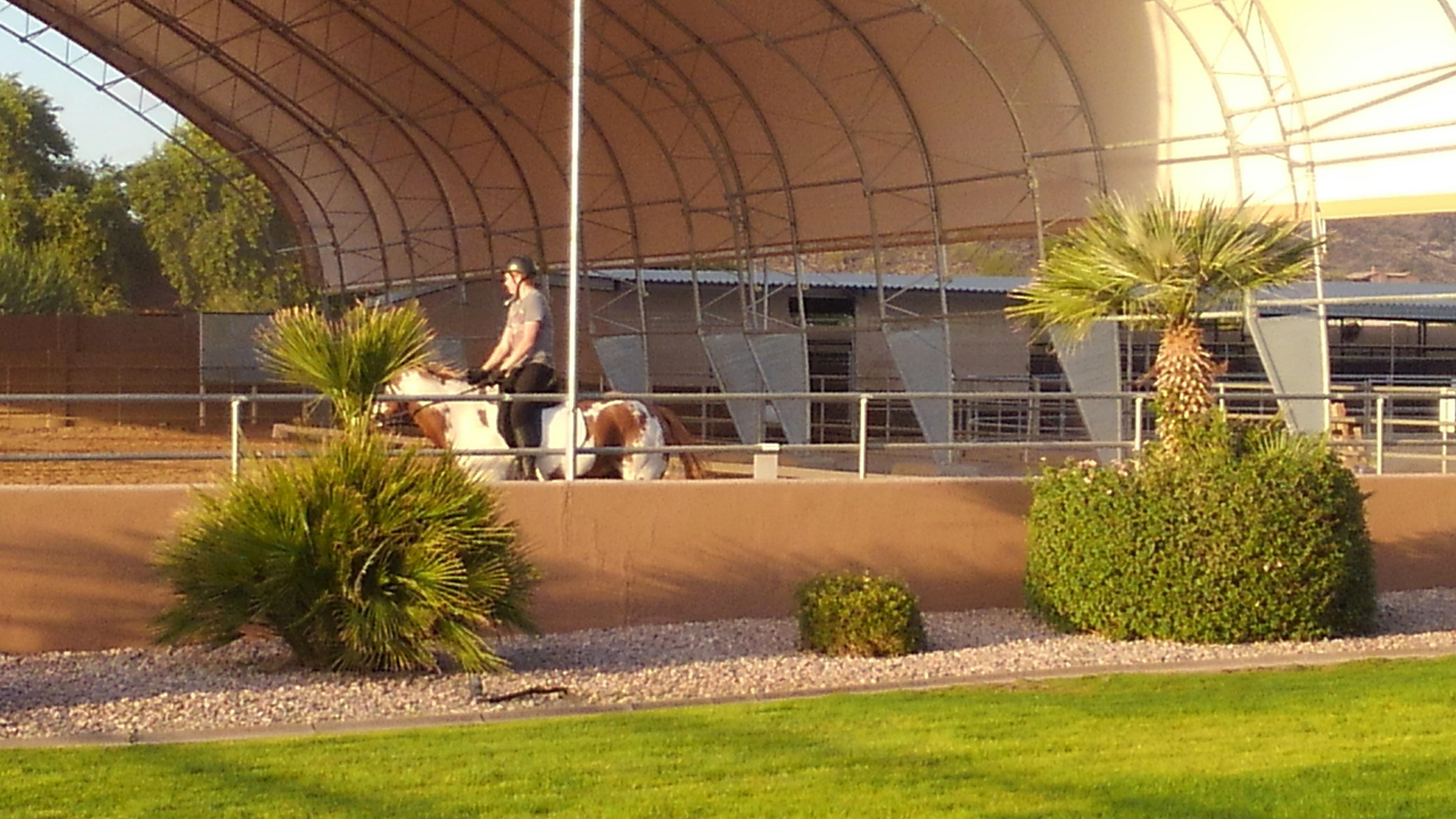 AccuSteel Equestrian Building